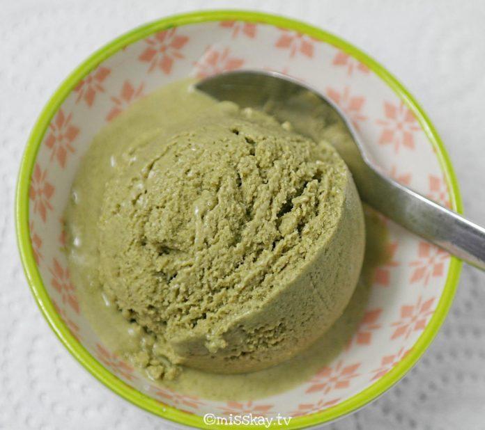 Matcha Eis (Paleo/Zuckerfrei)