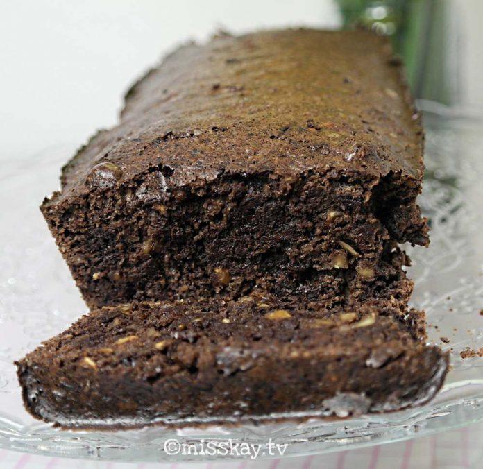 Schoko-Nuss-Kuchen für Pessach (Paleo/Zuckerfrei)