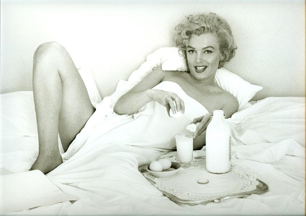Marilyn Monroe Frühstück