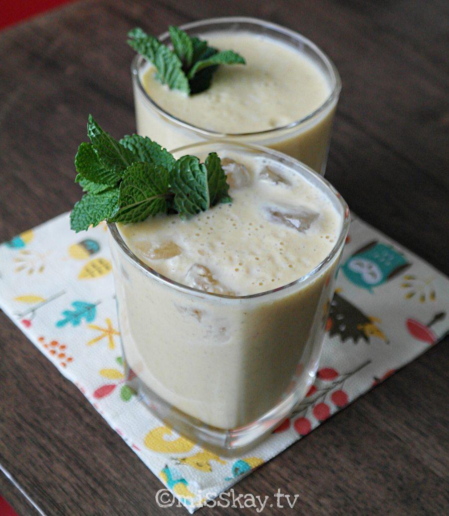 Butternut-Ahornsirup-Smoothie (Vegan/Paleo AIP)